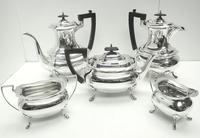 Impressive 5 Piece Silver Tea & Coffee Set Walker & Hall Sheffield 1917 (14 of 17)