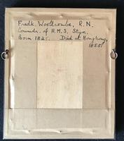 Antique Degueratype of Fed  K Woolcombe RN  HMS  Styx (3 of 3)