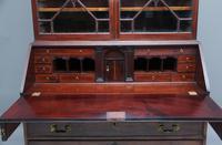 Superb Quality 18th Century Mahogany Bureau Bookcase (7 of 23)