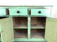 Victorian Antique Pine Painted Dresser Base Sideboard (5 of 14)