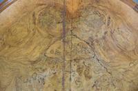Antique Victorian Figured Walnut Tilt Top Table (7 of 12)