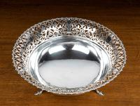 Early 20th Century Flared & Cast Silver Bowl (3 of 7)