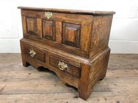 18th Century Style Welsh Oak Coffer Bach C.1930 (M-665) (8 of 11)