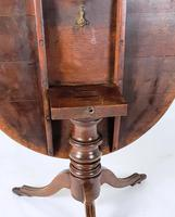 Early 19th Century Country Oak Tilt-Top Breakfast Table (8 of 9)