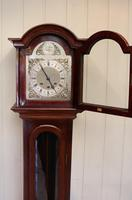 Westminster Chime Mahogany Grandmother Clock (5 of 12)