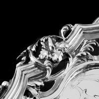 Exceptional Large Solid Sterling Silver Victorian Salver/tray/platter 47cm with Cast Border - Hunt & Roskell - Storr Mortimer & Hunt (18 of 29)