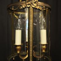 French Gilded Bronze Triple Light Lantern (5 of 10)
