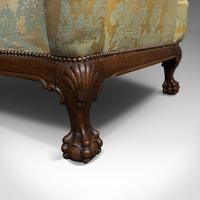 Antique Wing-Back Armchair, English, Fireside, Lounge, Seat, Edwardian, 1910 (4 of 12)