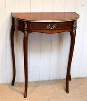 French Mahogany Demi Lune Table (2 of 10)