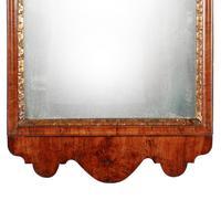 George I Walnut Framed Mirror (5 of 7)