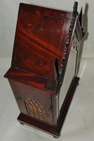 Regency Mahogany Gothic Bracket Clock (11 of 12)