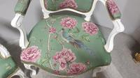 Wonderful Pair of French Painted Chairs (8 of 13)