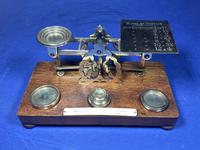 Victorian Mordan Letter Scales. (4 of 19)
