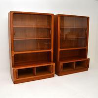 Pair of Danish Vintage Teak Bookcases by Dyrlund (4 of 12)
