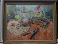 Still life in the artists garden by Joan Warburton (2 of 6)