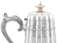 Sterling Silver Coffee Pot - Antique Victorian 1895 (7 of 12)