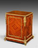 Late 19th Century Elaborate Gilt Bronze Dwarf Cabinet (3 of 5)