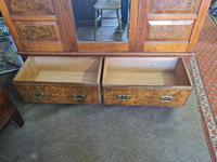 Antique Walnut Wardrobe with Burr Walnut Panels (6 of 11)