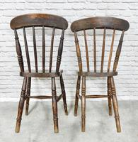 8 x 19th Century Windsor Kitchen Chairs (7 of 9)