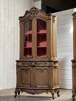 Exceptional Rare Pair of French Bookcases or Cabinets (2 of 37)