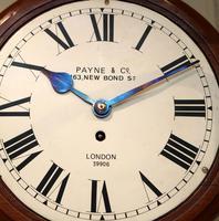 Mahogany 10' Fusee Dial Clock (9 of 12)