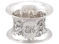 Sterling Silver Napkin Rings Set of Six - Antique Victorian 1897 (5 of 12)