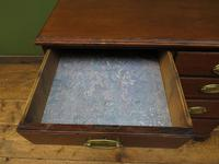 Antique Small Georgian Oak Chest of Drawers, Small Chest of Modest Proportions (7 of 15)