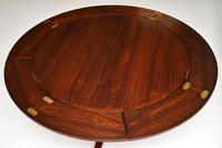1960's Danish Rosewood Flip Flap Lotus Dining Table by Dyrlund (12 of 12)