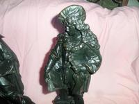 Fine Pair of French Spelter Figures c.1870 (4 of 4)