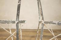 Charming Pair of Small French Metal Garden Chairs (11 of 13)