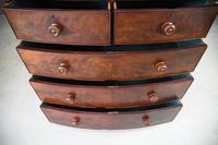 Victorian Mahogany Veneer Chest of Drawers (12 of 12)