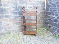 Arts & Crafts Carved Oak Book Rest (10 of 13)
