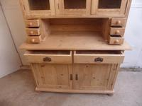 Lovely 3 Door 6 Spice Drawer Antique Pine Kitchen Dresser To Paint/Wax (6 of 9)