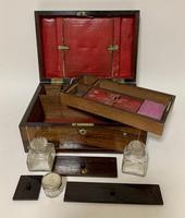 Victorian Rosewood Inlaid Vanity Box (8 of 14)