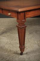 Very Large Victorian Multi-person Writing Table (3 of 19)