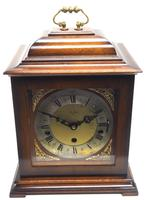 Incredible Sold Mahogany Mantel Clock Westminster Chime Triple Musical Bracket Clock by St James London (2 of 11)