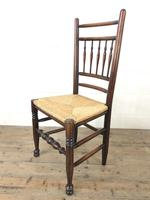 Set of Eight Spindle Back Chairs (9 of 10)
