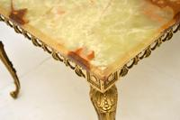 Antique French Onyx & Brass  Coffee  Table (8 of 10)
