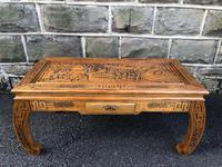 Oriental Chinese Opium Table