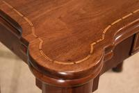 Early 18th Century Inlaid Pad Foot Card Table (8 of 9)
