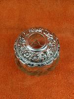 Antique Sterling Silver Hallmarked Large Vanity Hair Bottle Jar 1907 Arthur Willmore Pennington (12 of 12)