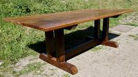 Reclaimed Elm Rustic English Barn Table (3 of 10)