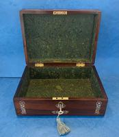 William IV Mother Pearl Inlaid Rosewood Box (11 of 12)