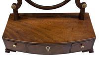 Georgian Oval Mahogany Dressing Table Mirror (5 of 8)