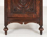 Good Quality Carved Walnut Cabinet (4 of 8)