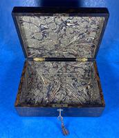 Victorian Coromandel Box with Mother of Pearl Escutcheons (12 of 14)