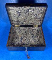 Victorian Coromandel Box with Mother of Pearl Escutcheons (12 of 14)