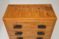Art Deco Solid Oak Chest of Drawers (10 of 12)