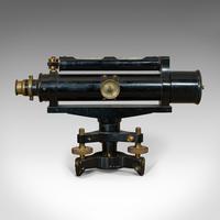 Antique Surveyor's Level, English, Brass, Scientific Instrument, Halden & Sons (10 of 11)