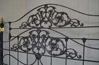 Super Victorian Brass & Iron King Size 5ft Bedstead (4 of 14)